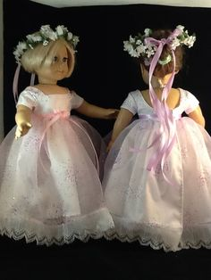 American Girl size 2014 Flower Girls at the Wedding