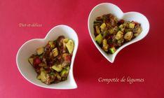 Compotée de légumes au cook expert : Diet & Délices - Recettes dietétiques