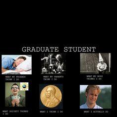 Grad school life! @Laurie Benavidez
