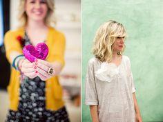 hair & outfit on the right...LOVE. Via. Bonnie Tsang.