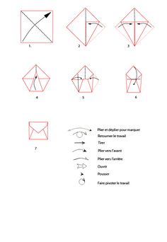 fabriquer une enveloppe tape par tape diy pinterest enveloppes bricolage et pliage. Black Bedroom Furniture Sets. Home Design Ideas