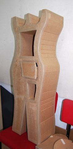 cardboard furniture WORKSHOP - Tatyana Dubinsky - Веб-альбомы Picasa