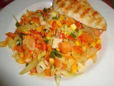 Salada Tropical light