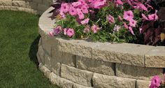 Anchor Block Products   Carlton®   Retaining Wall System