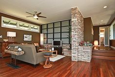 Great example of Hawaiian Mid Century Modern...love the updated floors!