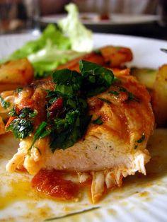 poulet mariné au paprika