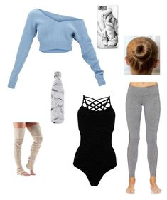 """Ballet Warm-Up Outfit"" by elannameyer on Polyvore featuring Pepper & Mayne, ToeSox, Spiritual Gangster and S'well"