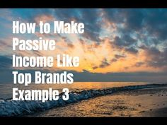 Learn how to make passive income like top brands. I cover This Is Why I'm Broke in this episode. Go to http://ift.tt/1ltodHp for video notes related content tips and helpful resources mentioned.  Let's Connect! Twitter - https://twitter.com/MrJustinBryant  Facebook - http://ift.tt/1LQomnx  Google - http://ift.tt/1PaQTrN  In this video I will show you how to make passive income like top brands online. This is the third episode of the series where I cover This Is Why I'm Broke and how the…