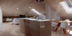 Sótão da Família Oliveira #loftrenovation #loft #architecture #render #study #kicthen #livingroom #upcycled #storage #homedecor #furniture #interiors #interiordesign #homeinspiration #details #homesweethome #homestoriespt #umaobraumahistória