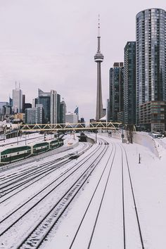 "gentscartel: ""Snow in Toronto // GC "" Toronto Snow, Toronto Ontario Canada, Downtown Toronto, Toronto Winter, Toronto Skyline, Toronto Photography, City Photography, Torre Cn, Places To Travel"