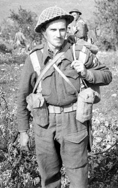 Participant at Monte Cassino British Soldier, North Africa, World War Two, Soldiers, Ww2, Poland, Battle, Fotografia