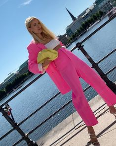 Style Outfits, Pink Outfits, Colourful Outfits, Colorful Fashion, Summer Outfits, Fashion Outfits, Ohh Couture, Leonie Hanne, Iranian Women Fashion