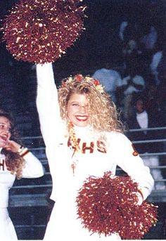 Fergie Junior Year 1992 Glen Wilson High School, Hacienda Heights, CA