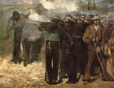 Édouard Manet - L'Exécution de Maximilien (1867)
