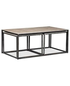 Monterey Coffee Table, Rectangular Nesting - Coffee & Accent Tables - Furniture - Macy's