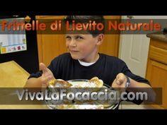 Ricetta Frittelle di Lievito Naturale (Licoli, Pasta Madre) - YouTube