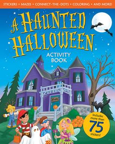 A Haunted Halloween Activity Book - A softcover activity and sticker book. Ages 4-7