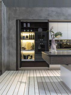 Küchen | Mayr & Glatzl Innenarchitektur GmbH |  #innenarchitektur #küche #design #details Bathroom Lighting, Interiors, Mirror, Furniture, Design, Home Decor, Interior Design Kitchen, Luxury, Bathroom Light Fittings