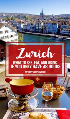 How to spend a busy and blissful 48 hours in Zürich http://toeuropeandbeyond.com/48-hours-in-zurich/ #Switzerland #Zurich #travel
