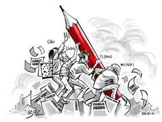 Benoît Vieillard. #Charlie #CharlieHebdo #jesuisCharlie