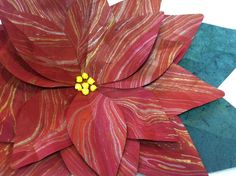 paper-poinsettia-red
