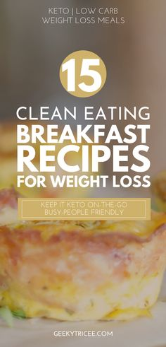 Easy, clean eating, keto breakfast recipes to help you stick to your ketogenic diet on those busy mornings when you need Quick Keto Breakfast, Ketogenic Breakfast, Egg Recipes For Breakfast, Clean Eating Breakfast, Breakfast On The Go, Ketogenic Diet, Keto On The Go, Clean Eating Recipes, Keto Recipes