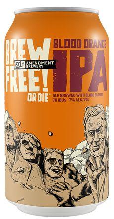 "6 ""Fruit-Fueled"" Beers To Chase Down This Weekend - American Craft Beer 21st Amendment, New Fruit, Brew Pub, Best Beer, American Crafts, Blood Orange, Craft Beer, Brewery, Ale"