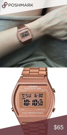 e09fe749d00 VINTAGE ROSE GOLD CASIO WATCH Good as brand new. G-Shock Accessories Watches