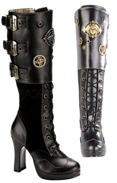 The Violet Vixen - Bumble Buzz Boots, $115.00 (http://thevioletvixen.com/shoes/bumble-buzz-boots/)