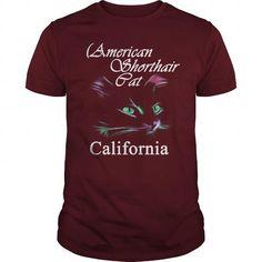 American Shorthair Cat California T-Shirts T-Shirts, Hoodies ==►► Click Order This Shirt NOW!