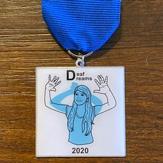 A fiesta medal we helped create for Deaf Dreams is now on sale for $10! Grab yours for Fiesta 2020 🎉