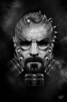FANTASMAGORIK® BREAKING BAD by obery nicolas, via Behance