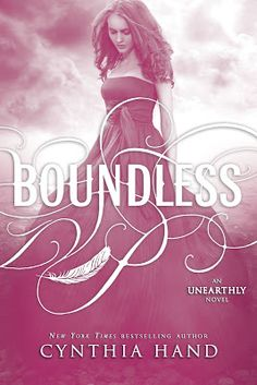 Boundless - Cynthia Hand  (#3 in the Unearthly Series).  I really enjoyed these books!