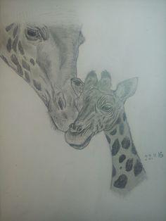 #draw #giraffe #pencil