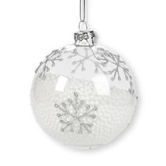 LARGE FROST SNOWFLAKE ORNAMENT The delicacy and intricate ...