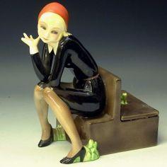 """An Art Deco figure by Lenci """"Nella"""""""