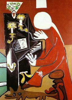 ピアノ LE PIANO 钢琴(1957) : 【変化する作風】パブロ・ピカソの絵画(Pablo Picasso)(巴勃罗·毕加索)【10の時代】 - NAVER まとめ