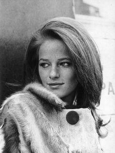 Charlotte Rampling, 1960s.