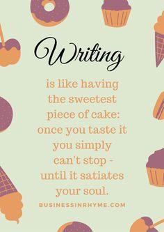 Poetic inspiration: Writing