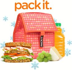 You MUST get one of these! The entire lunch box has a built in freezer pack and it stays cold for hours without any wasted space! We LOVE it!