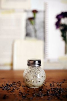 After a long day there is nothing more relaxing that a long bath with some lavender salt scrub. Try this unique and effective recipe.