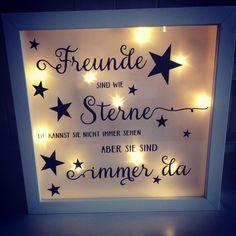 #handmade #geschenkidee #becreative #friend #friendship #Tantehase #ledrahmen #leuchtrahmen #ledbilderrahmen #ribba Www.facebook.com/tantehasehandmade