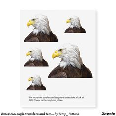Cool #American Eagle design temporary tattoos and body transfers. Loads of other cool temporary tattoos available, check out #Temp_tattoos