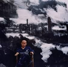 John Virtue by Kevin Davies Contemporary Art Artists, Contemporary Landscape, Urban Landscape, Landscape Art, Landscape Paintings, London Painting, Environment Painting, Drawing Exercises, Artist Biography