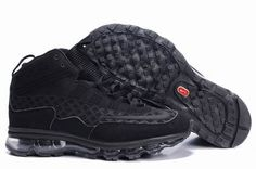 official photos 7c0d4 5b892 Danmark Billige Nike Air Max Griffey Trainers Mænd - Black Ken Griffey Jr  Shoes, All