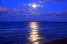 moonlight over water pictures | Moonlight Over the Sea