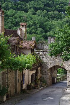 Small Street - Rocamadour, France