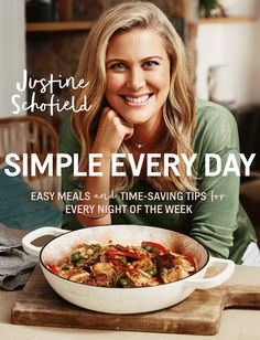 Buy Simple Every Day: Easy Meals and Time-Saving Tips for Every Night of the Week by Justine Schofield and Read this Book on Kobo's Free Apps. Discover Kobo's Vast Collection of Ebooks and Audiobooks Today - Over 4 Million Titles! Delicious Gravy Recipe, Cooking Show Hosts, Mediterranean Cookbook, Pea And Ham Soup, Vegan Cookbook, Vegetarian Options, Eating Raw, Easy Cooking, Food Design