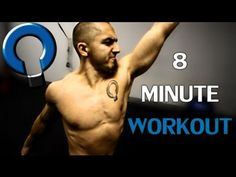 8 minute workout- Functional Core Exercises with Naudi Aguilar - YouTube 8 Minute Workout, Hard Workout, Core Training Exercises, Interval Training, Plyometrics, Trx, High Intensity Workout, Functional Training, Back Exercises