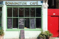 Bonnington Cafe - I'm not vegetarian but its the best vegetarian restaurant I've been too. London, Lambeth.